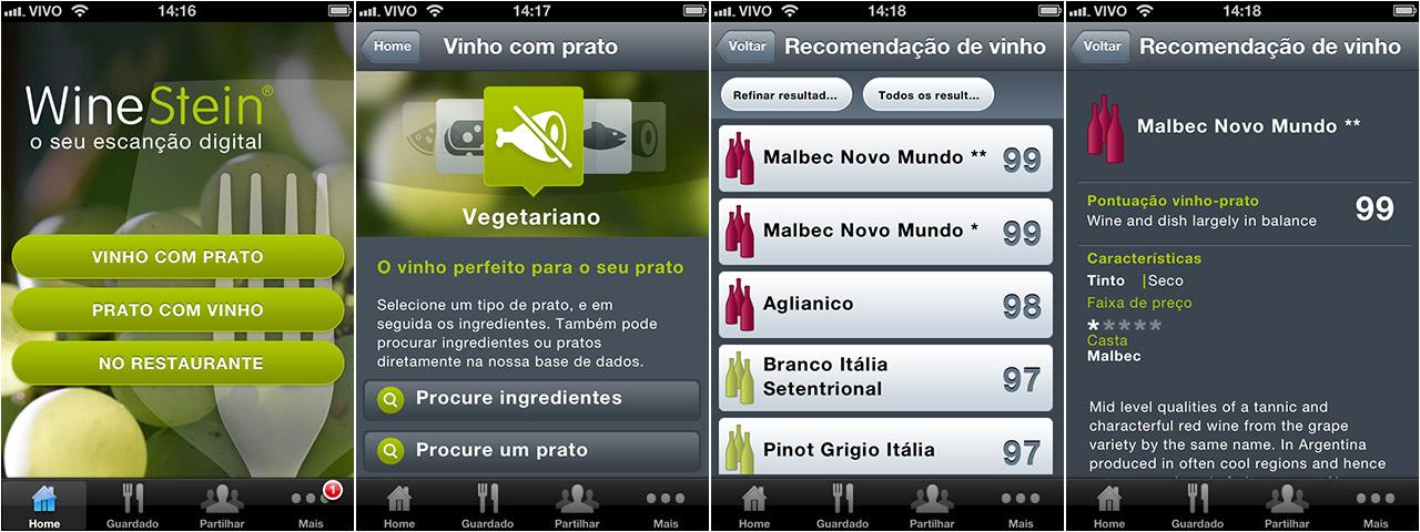 Wine Stein app