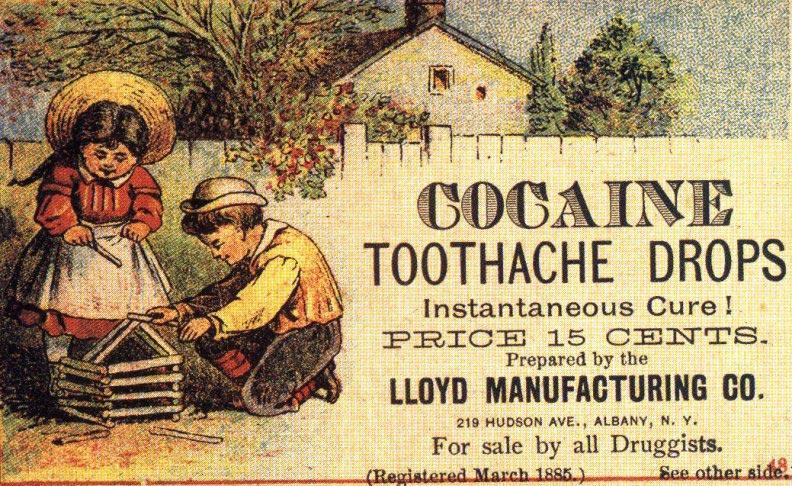 cocaina dor dentes