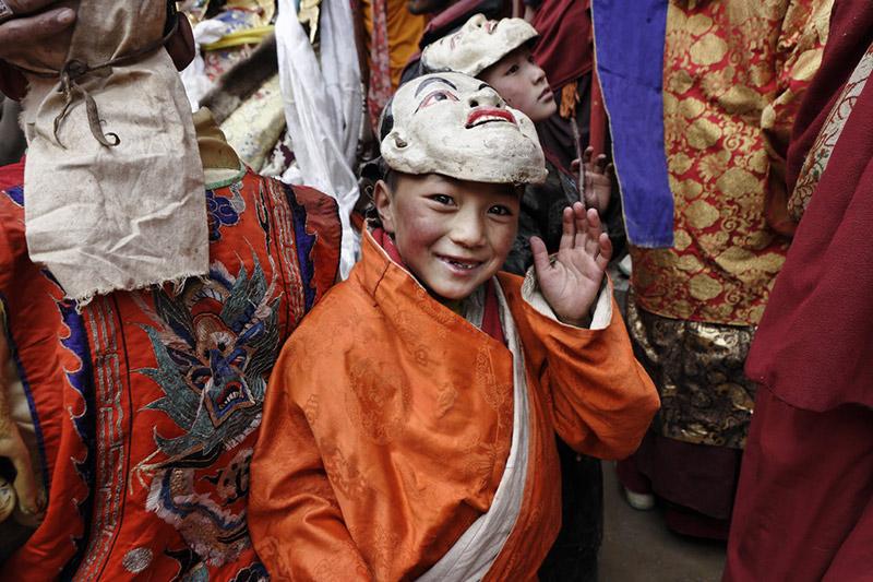 fotografias do monge budista Matthieu Ricard