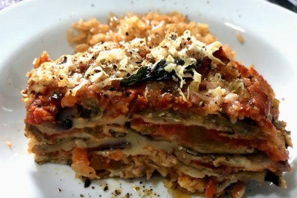 A verdadeira Melanzane Alla Parmigiana (berinjela à parmegiana)