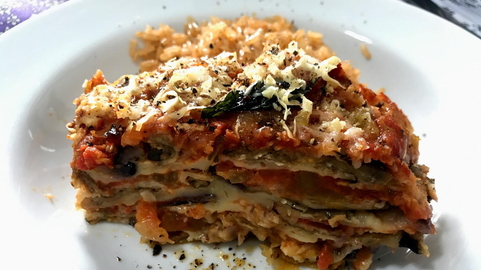 mellanzane alla parmigiana